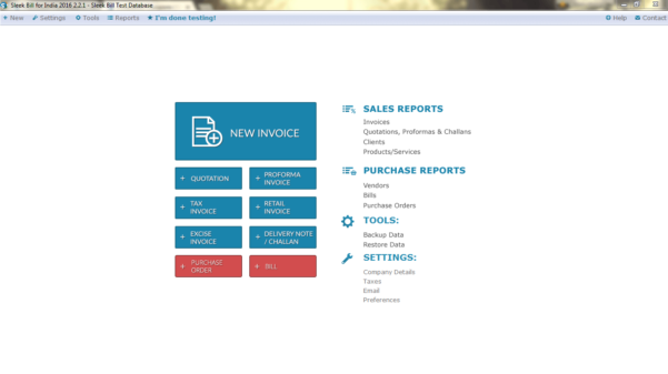 Free Billing Software   Gst Invoice India And Business Invoice Program