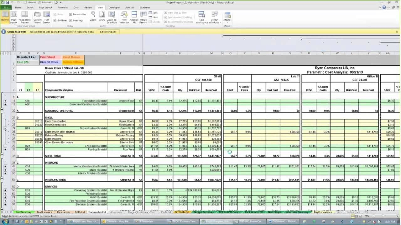 Free Building Construction Estimate Spreadsheet Excel Download With For Construction Estimating Excel Spreadsheet Free