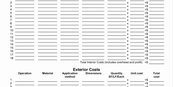 Free Building Estimate Format In Excel Elegant Construction Schedule Intended For Construction Cost Templates Free Download