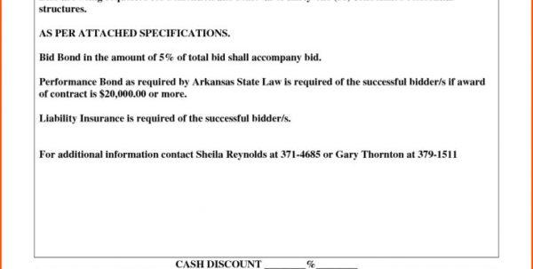 Free Construction Bid Proposal Template Dawaydabrowaco Regarding With Construction Bid Form Free