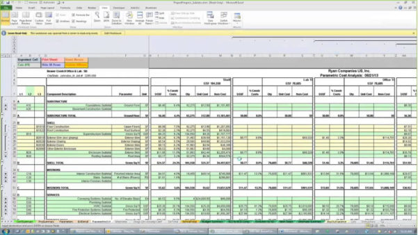 Free Construction Cost Estimate Template Excel | Homebiz4U2Profit Within Construction Cost Estimating Spreadsheet
