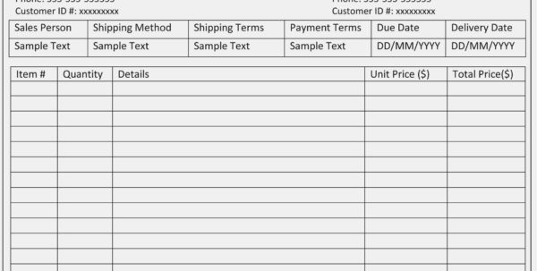 Free Construction Estimate Forms Templates And Invoice Template Throughout Construction Estimating Forms Template
