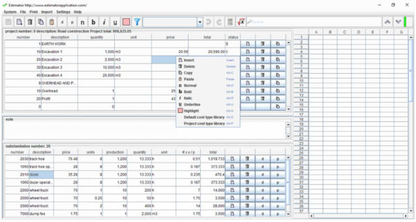Free Construction Estimating Spreadsheet Template Building Within Construction Estimating Spreadsheet Template