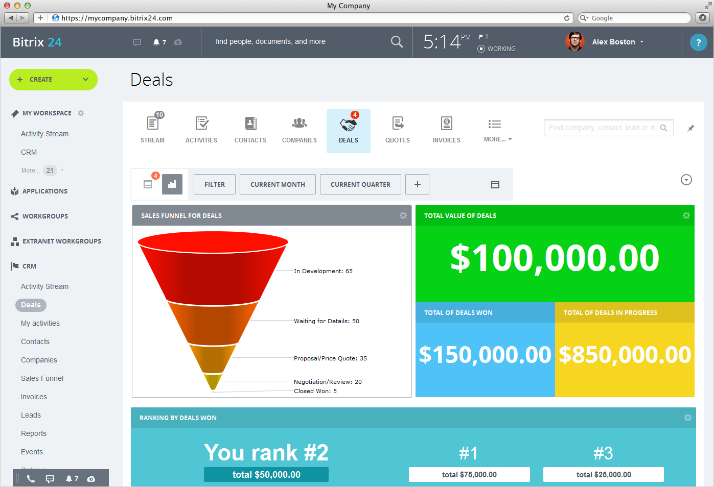 Free Crm Software | Crm Products | Bitrix24 Crm Software | Blkpros And Freeware Crm Excel Template