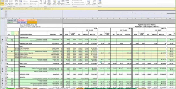 Free Customisable Construction Estimate Template #3234   Searchexecutive To Construction Estimating Templates For Excel Free