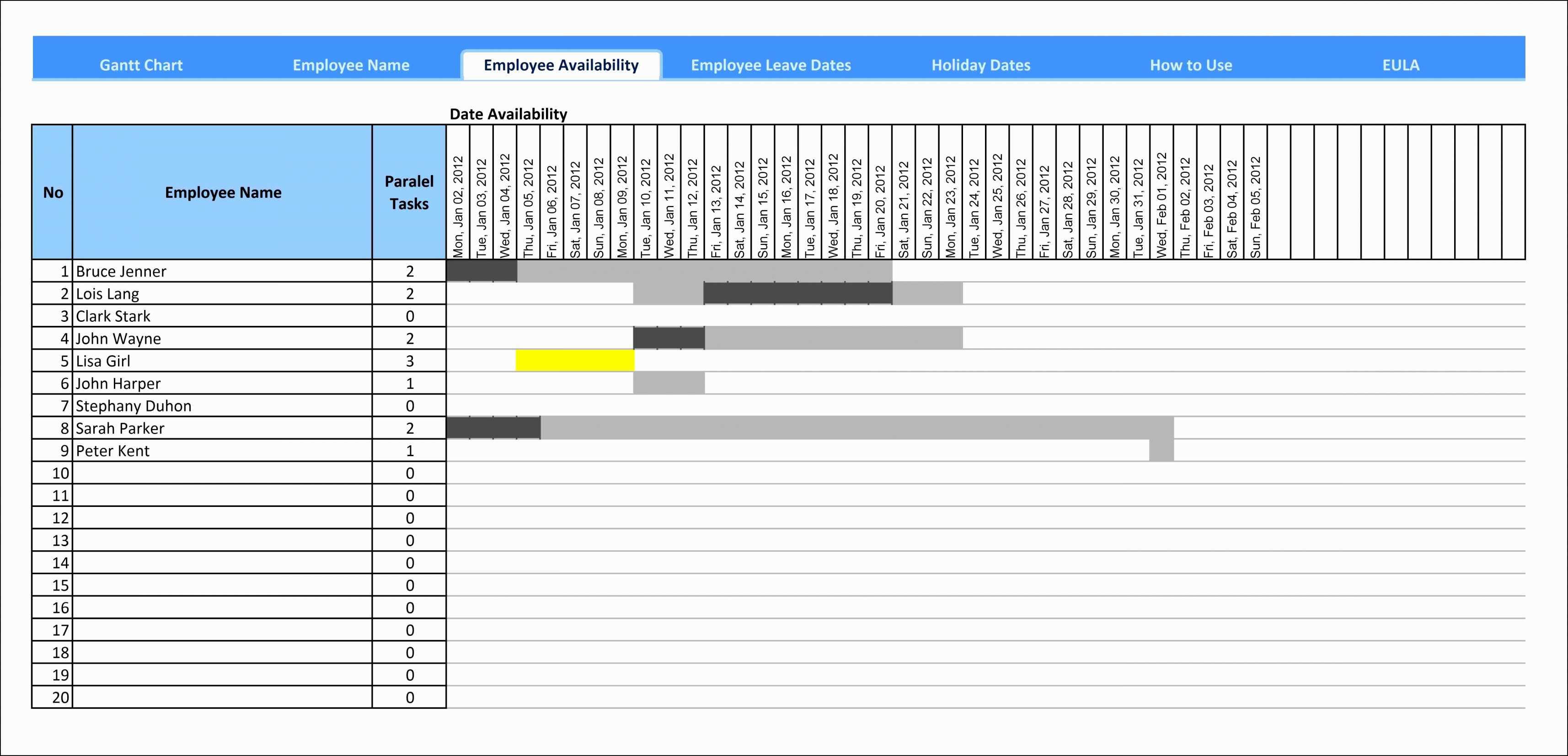 Free Download Gantt Chart Template For Excel Diagram Awesome with Microsoft Office Gantt Chart Template Free