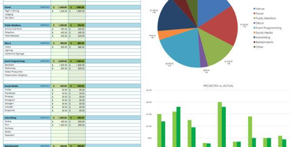 Free Financial Planning Templates | Smartsheet Inside Sample Budget Spreadsheet Excel Sample Budget Spreadsheet Excel Excel Spreadsheet Templates