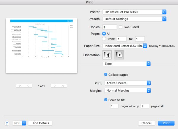 Free Gantt Chart Excel Template: Download Now   Teamgantt In Gantt Chart Template Excel