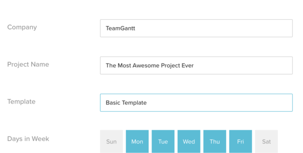 Free Gantt Chart Excel Template: Download Now | Teamgantt Within Gantt Chart Template Powerpoint Free Download