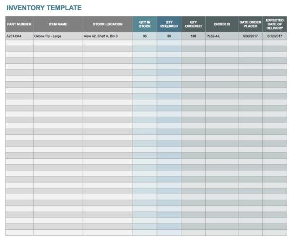 Free Google Docs And Spreadsheet Templates Smartsheet Within Account Spreadsheet Templates