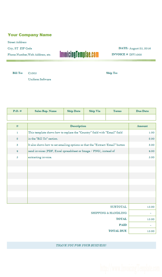 Free Invoice Template Microsoft Works And Taxi Bookkeeping Template