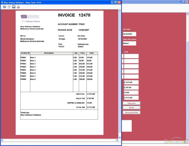 Free Invoicing Software   Free To Do List For Business Invoice For Business Invoice Program