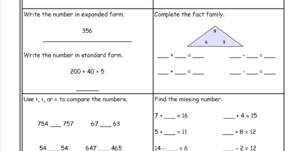 Free Math Printouts From The Teacher's Guide Within Worksheet Templates For Teachers