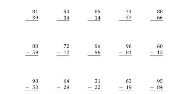 Free Math Worksheet Generator Printable   Rcnschool Intended For Worksheet Generator