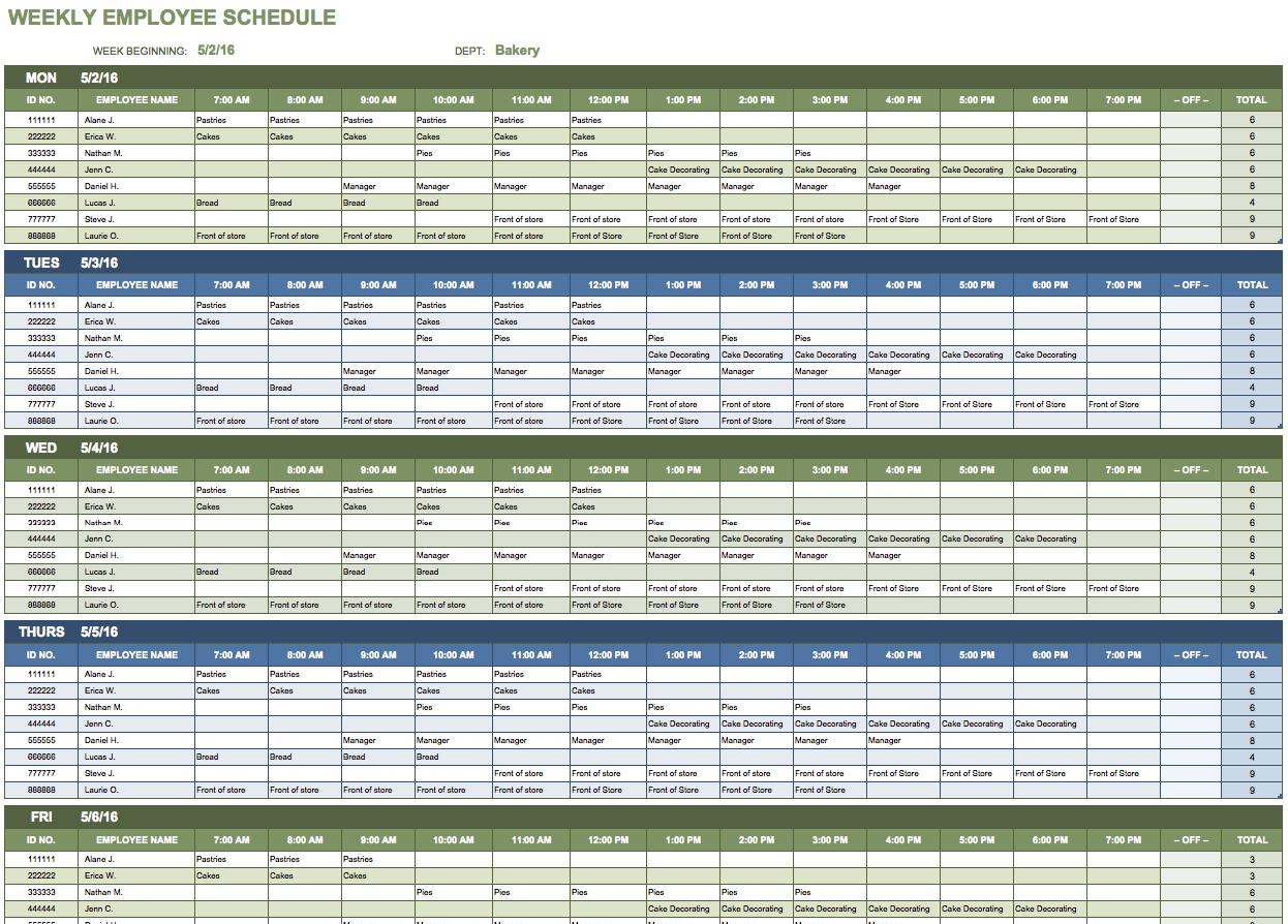 Free Microsoft Office Templates   Smartsheet Throughout Microsoft Spreadsheet Templates