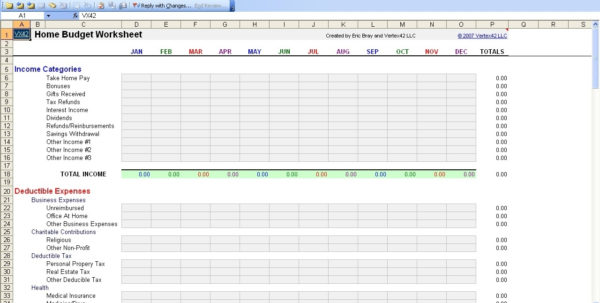 Free Personal Budget Spreadsheet Excel Spreadsheet Part For Personal Intended For Personal Budgeting Spreadsheet Excel