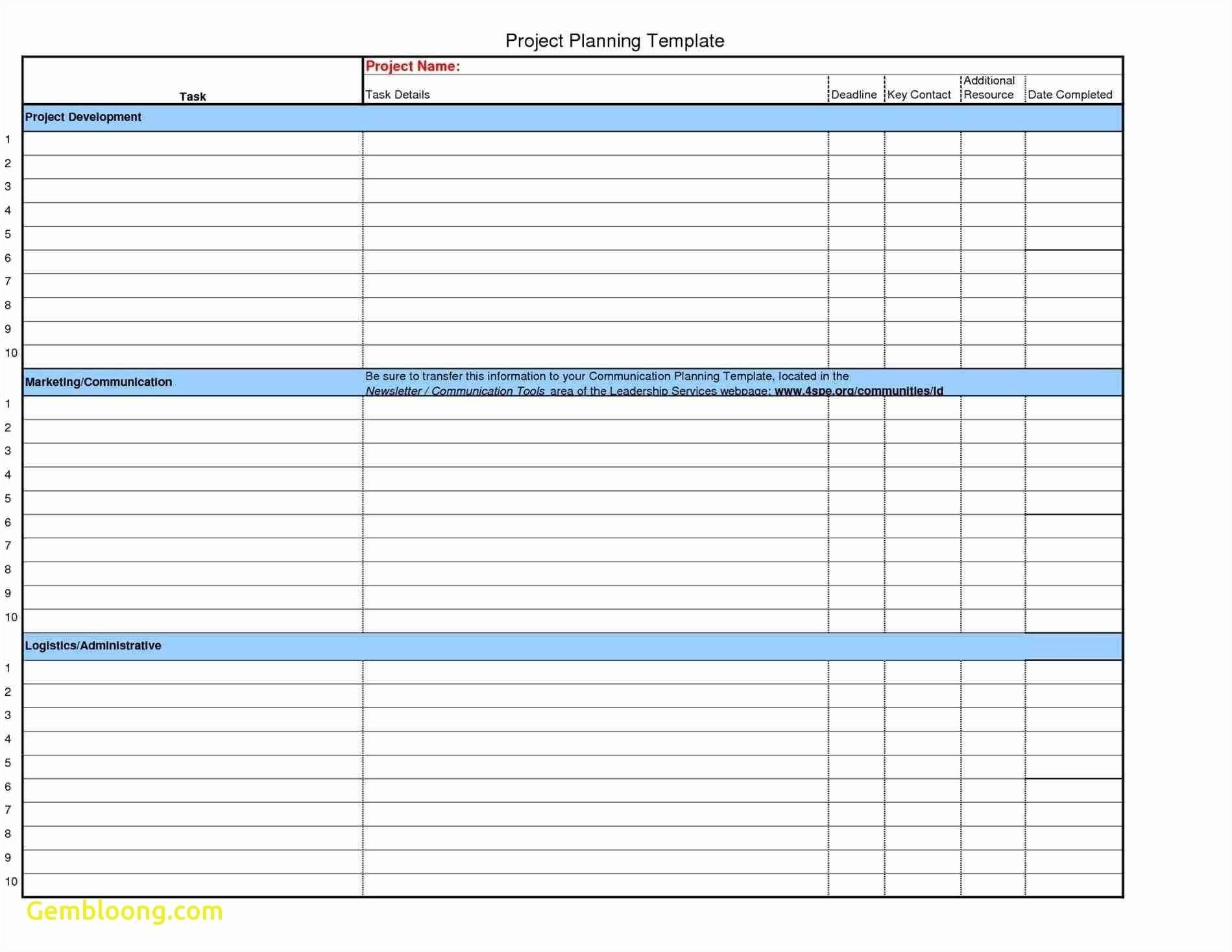 Free Project Plan Template Excel 41 Fresh Capacity Planning Excel Within Project Management Plan Templates Free