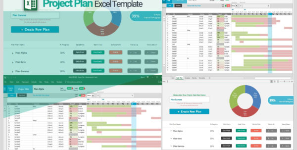 Free Project Plan Template Excel Project Planning Excel Template And Project Management Templates Excel Free Download