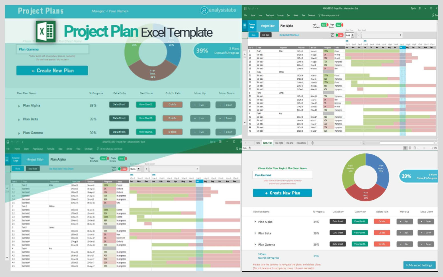Free Project Plan Template Excel Project Planning Excel Template With Project Management Excel Template Free Download