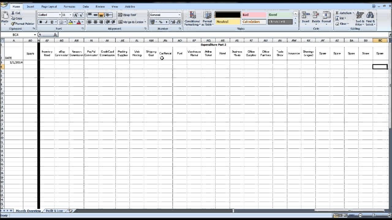 Free Quickbooks Templates Free Bookkeeping Templates Spreadsheet In Weekly Bookkeeping Template