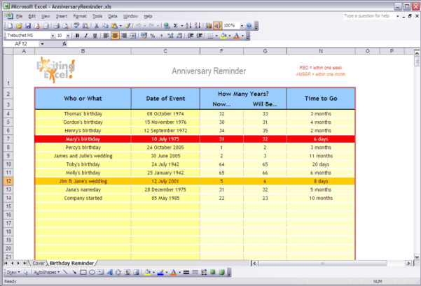 Free Ready To Use Excel Spreadsheet Templates, Downloads And Examples In Download Excel Spreadsheet Templates