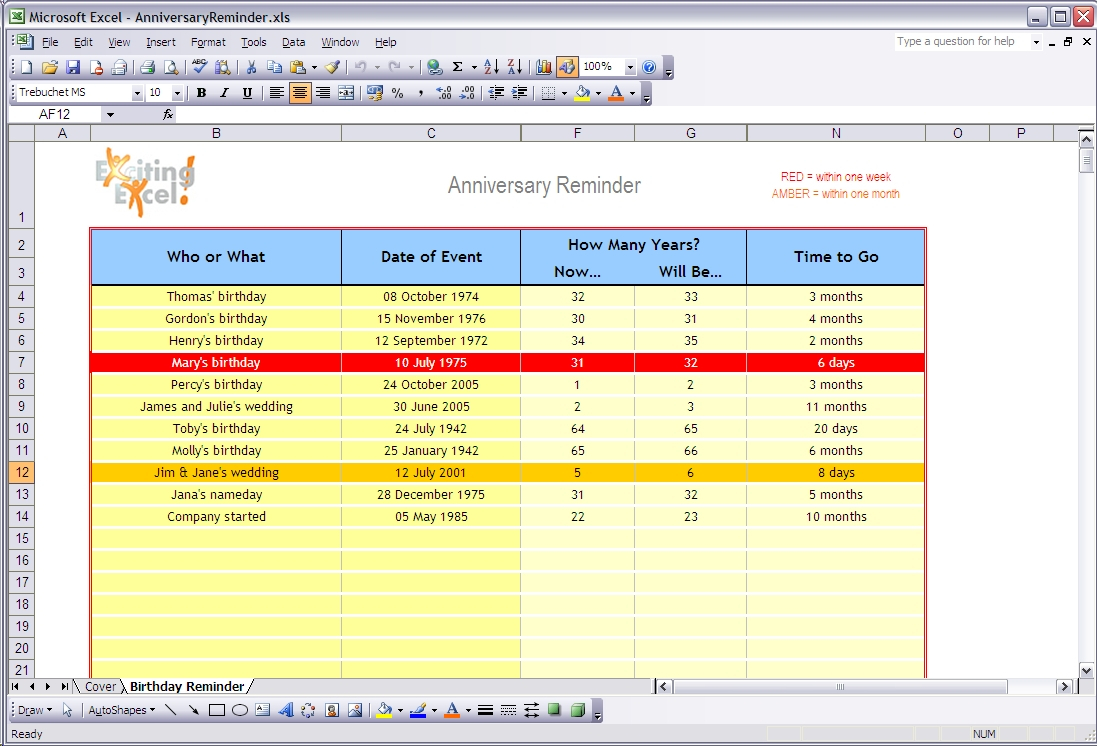 Free Ready To Use Excel Spreadsheet Templates, Downloads And Examples Inside Free Excel Spreadsheets Templates