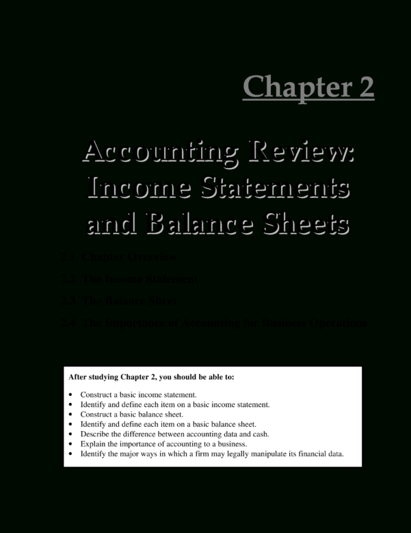 Free Simple Accounting Income Statement | Templates At In Simple Income Statement