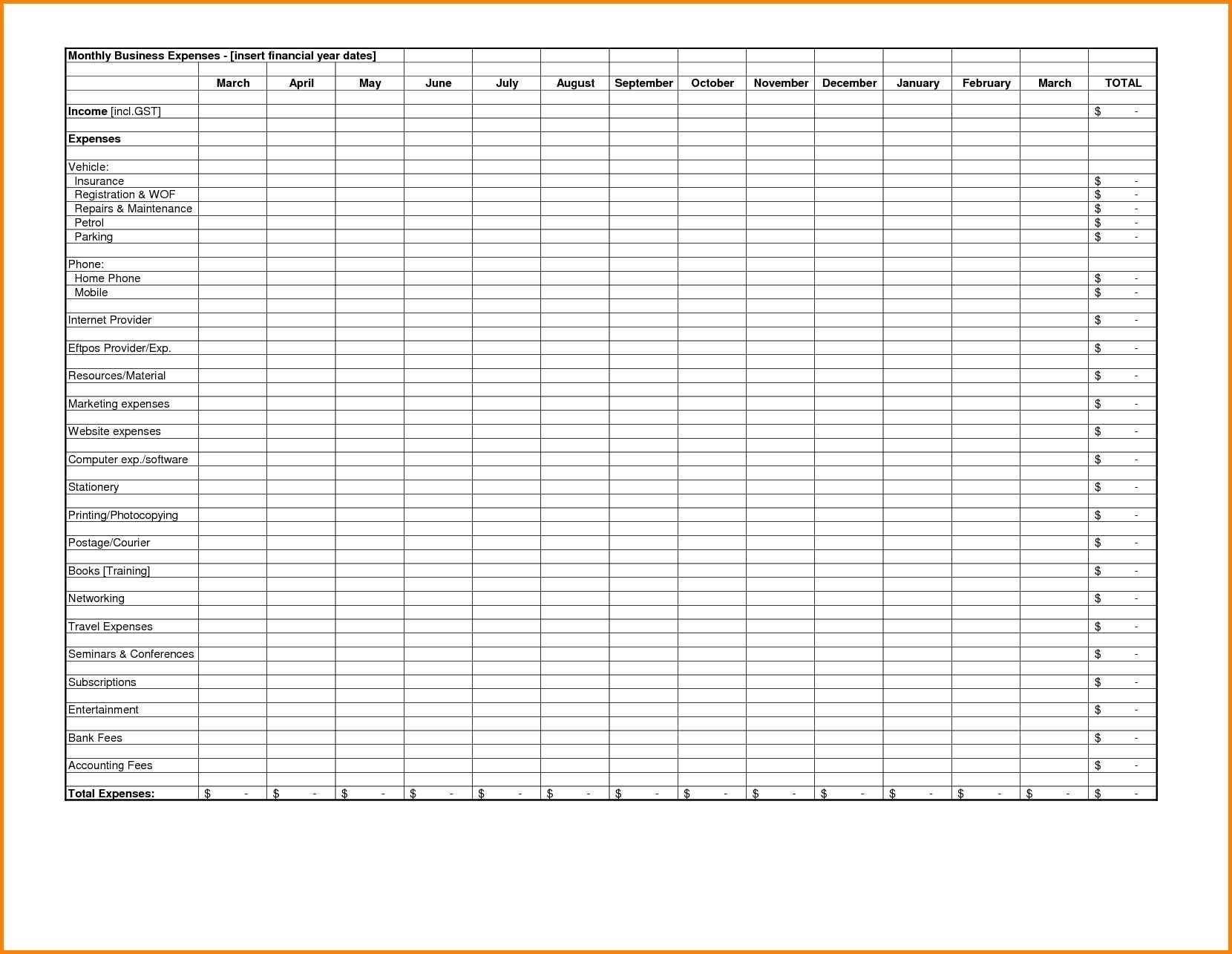Free Spreadsheet | Haisume In Restaurant Bookkeeping Templates For Restaurant Bookkeeping Templates