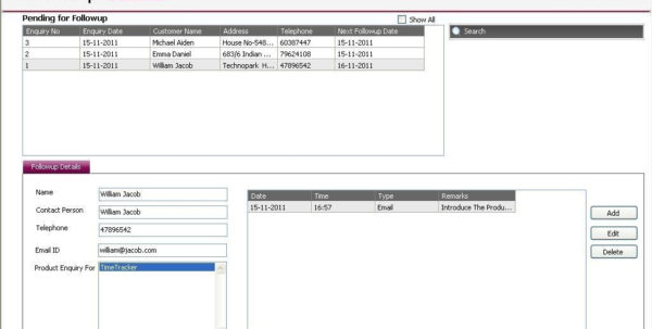 Freeware Download: Free Excel Crm Sheet Template Within Crm Excel Sheet Download