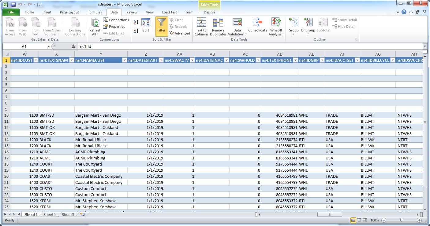 Fun With Sdata | Stephen Smith's Blog With Excel Crm Template Free Inside Crm Excel Template Free