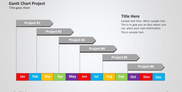 Gantt Chart Project Ppt   Slide Ocean With Gantt Chart Template For Powerpoint