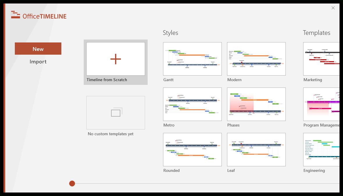 Gantt Chart Template Collection With Gantt Chart Ppt Template Free Download