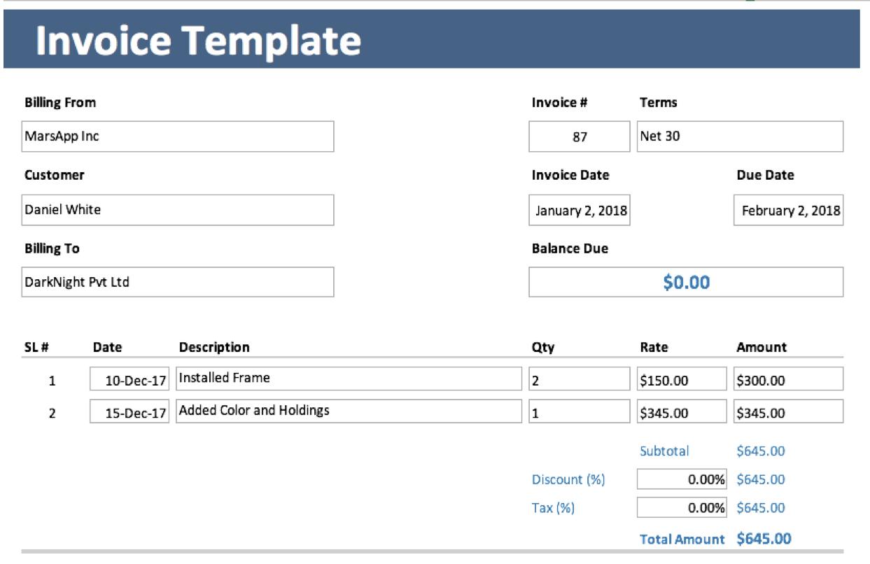 Gantt Chart Template | Gantt Chart Free Excel Template With Simple Gantt Chart Template Excel Download