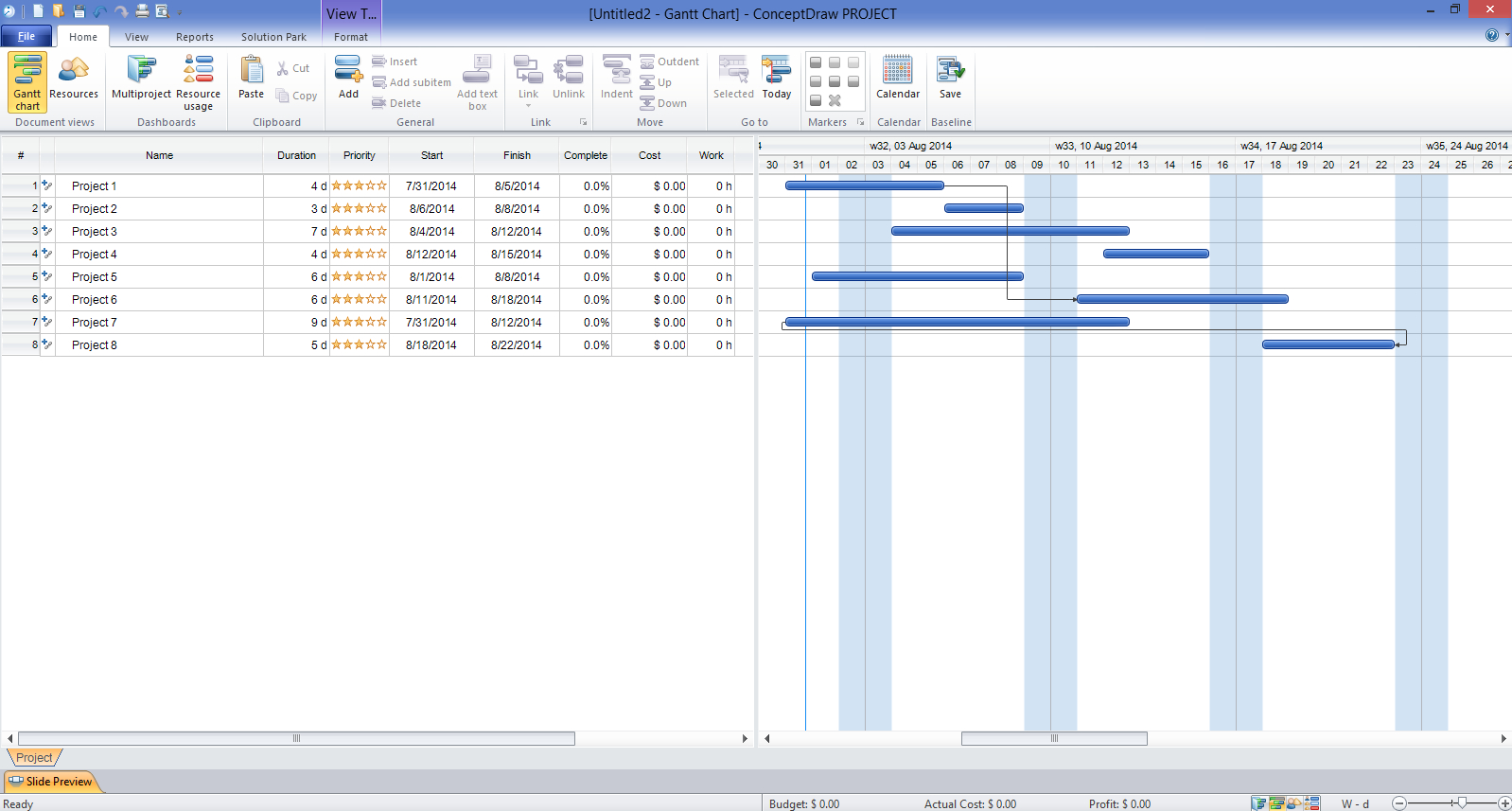 Gantt Chart Templates Throughout Gantt Chart Template Pdf