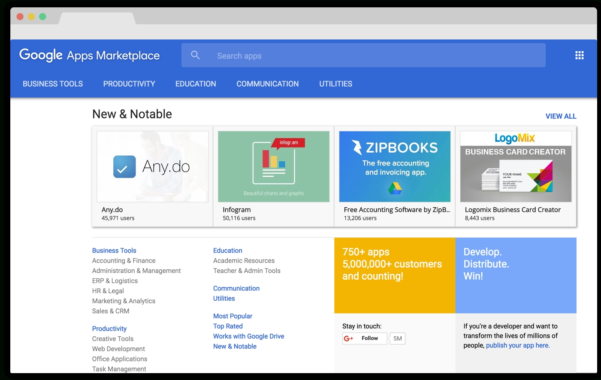 "Google Apps For Work Has A New ""New & Noteable"" App 