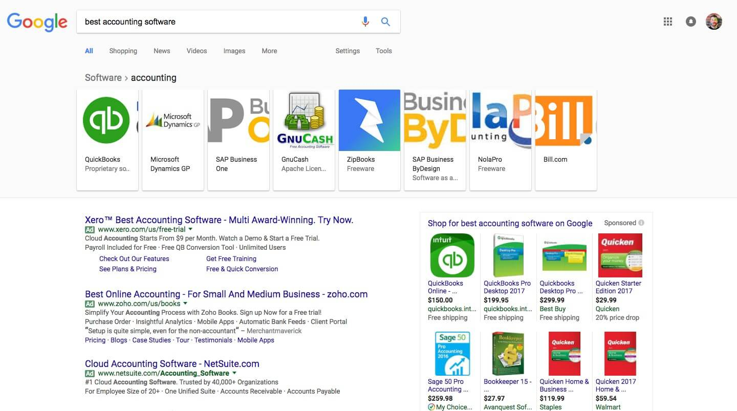 "Google Expanding Carousel Layout For ""Best"" Keywords 