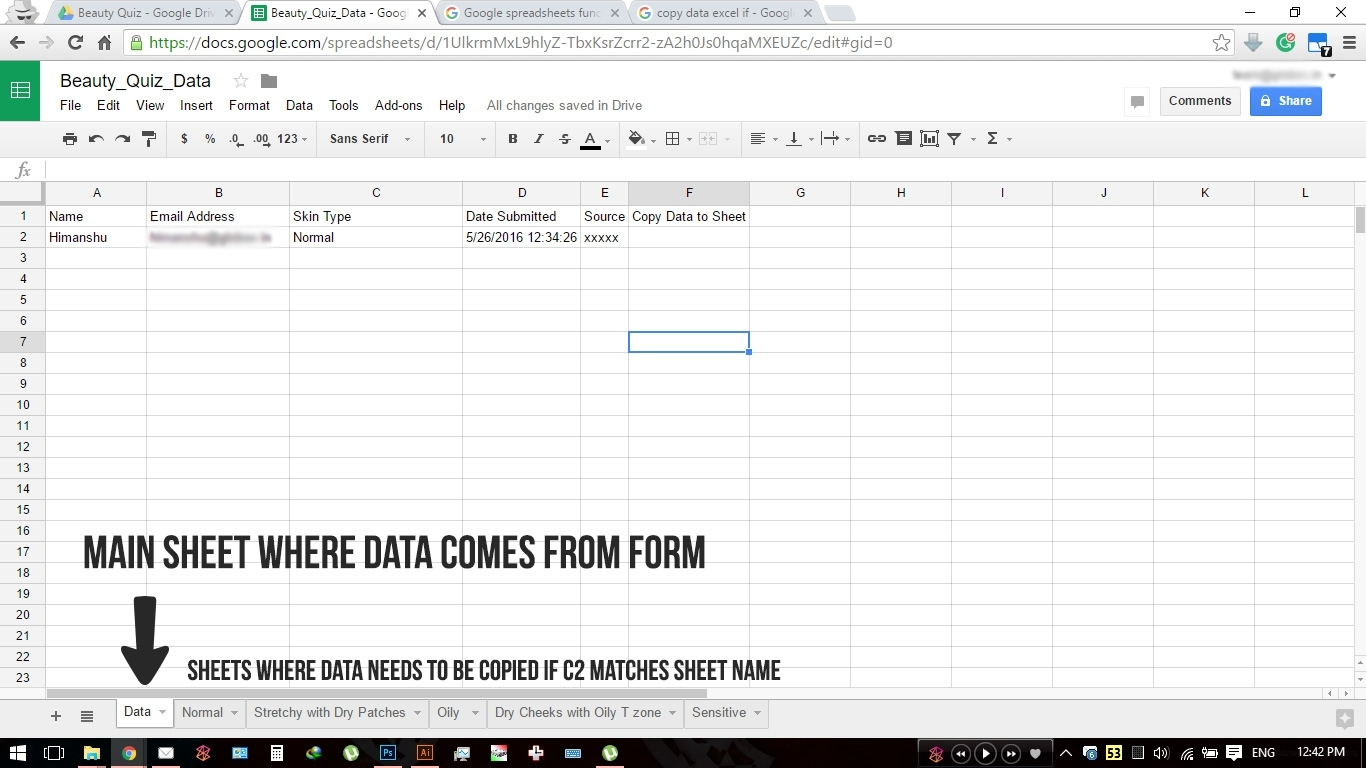 Google Spreadsheets How Do I Copy Data If Cell Contains Text With with Google Spreadsheet If