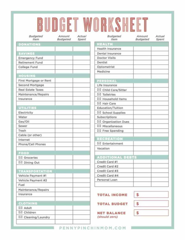Home Budgeting Spreadsheet Images Of Daily Personal Budget In Intended For Personal Budgeting Spreadsheet Excel