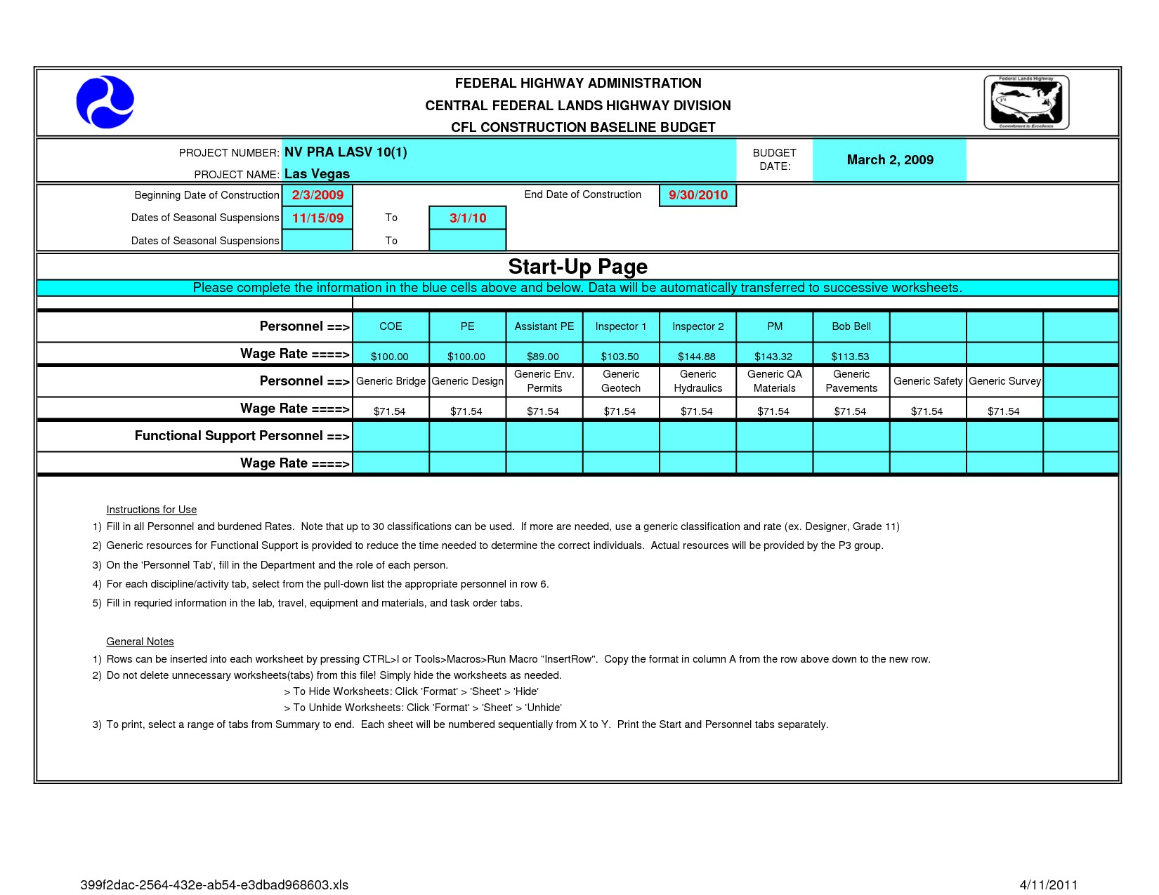 Home Construction Budget Worksheet Template New ...