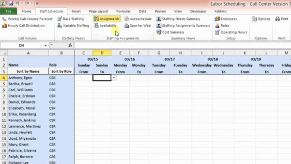 Hourly Calendar Template Excel Luxury Daily Planner Excel Template And Call Center Kpi Excel Template