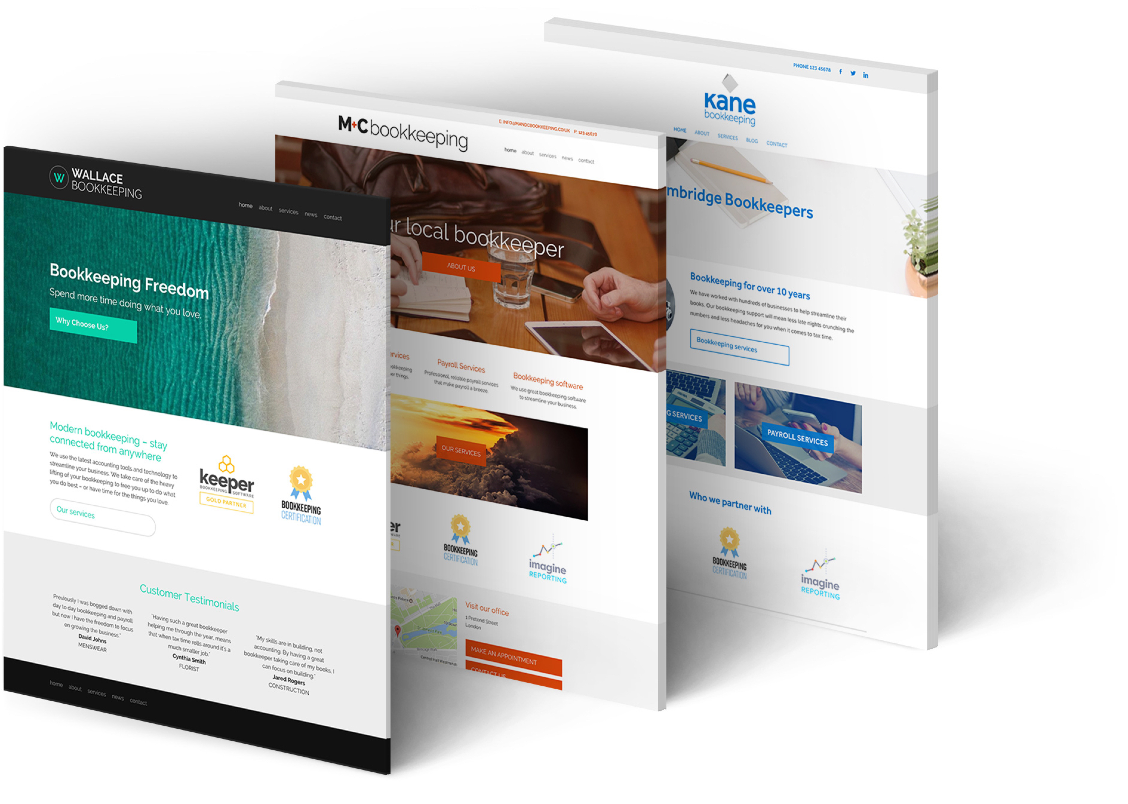How To Create A Great Bookkeeper Website To Bookkeeping Website Templates