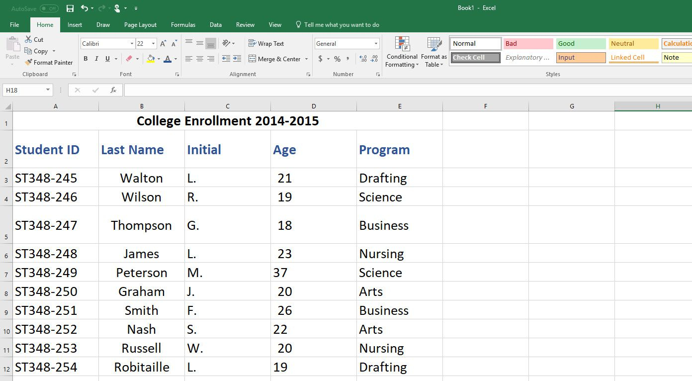 How To Create An Excel Database Within Client Database Excel Spreadsheet