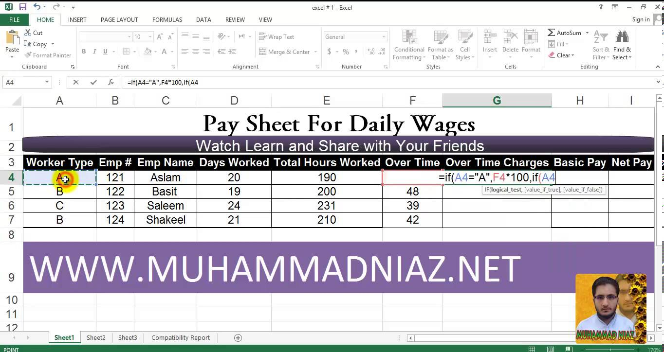 How To Create An Excel Spreadsheet With Formulas 2018 Inventory For Accounting Spreadsheets Excel Formulas