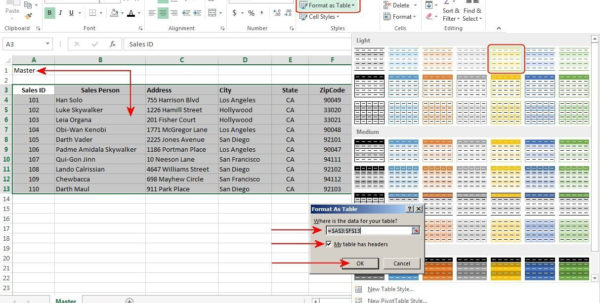 How To Create Relational Databases In Excel 2013 | Pcworld And How To Create A Spreadsheet In Excel 2013