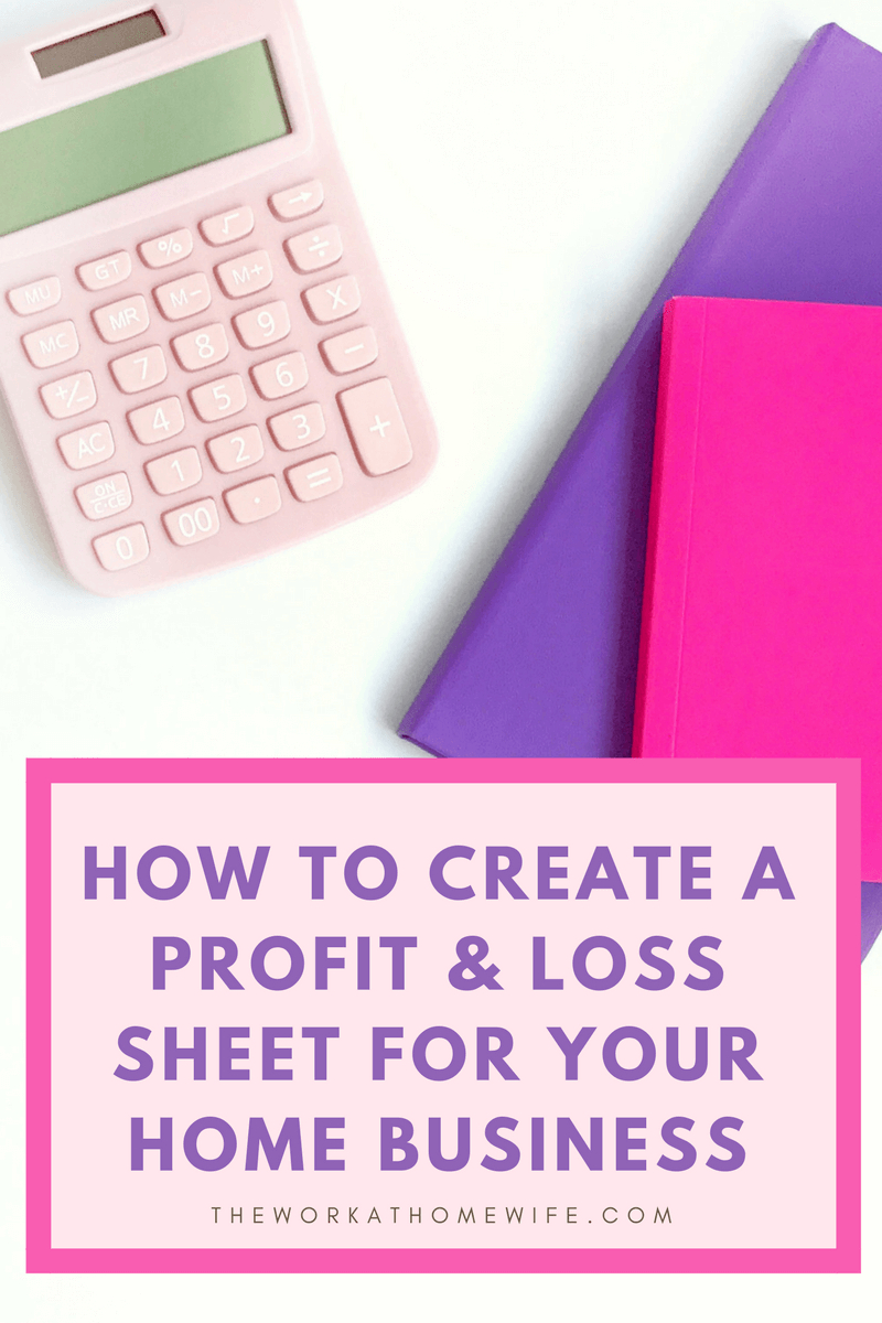 How To Do A Profit And Loss Statement When You're Self Employed (  And Profit Loss Spreadsheet Template Free