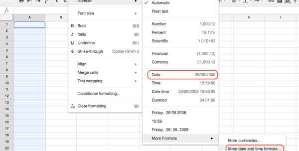 How To Fill A Column With Sequential Dates In Google Sheets   Web To Google Spreadsheets