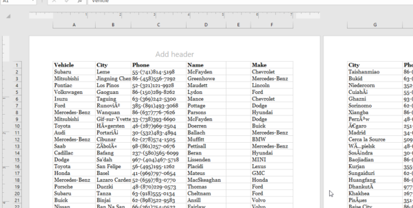 How To Print An Excel Spreadsheet Like A Pro   Free Sample File To Samples Of Spreadsheets
