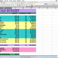 How To Setup A Spreadsheet For Household Budget As Budget Throughout How To Set Up An Excel Spreadsheet