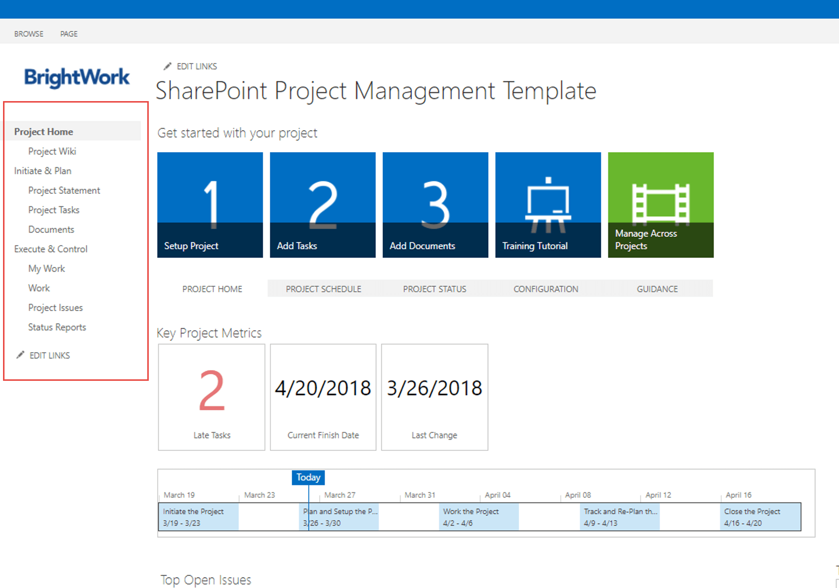 How To Use Sharepoint For Project Management Throughout Project Management Templates For Sharepoint