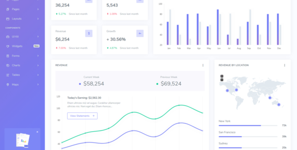 Hyper – Responsive Admin & Dashboard Template   Bootstrap Themes With Dashboard Spreadsheet Templates